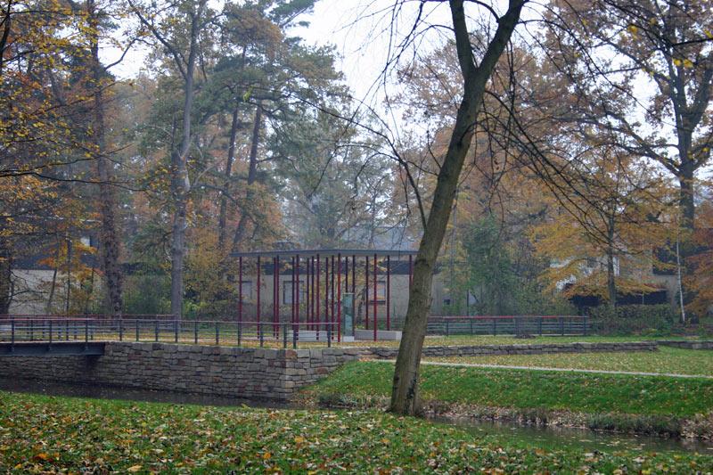 Dalkeinsel-Pavillon-Herbst
