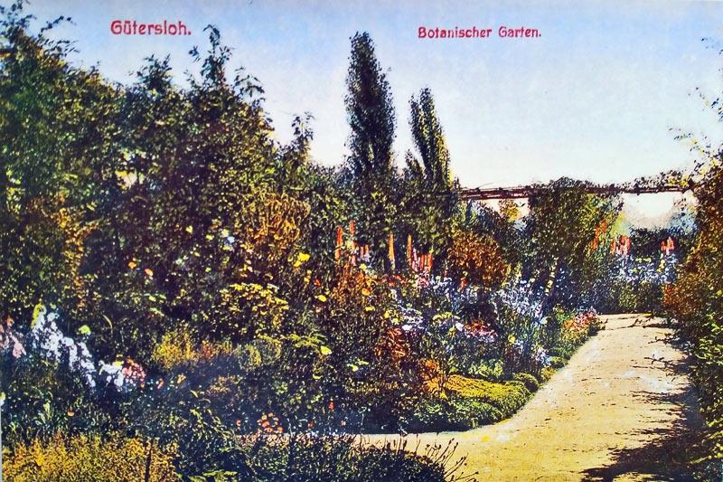 Postkarten Botanischer Garten Gütersloh