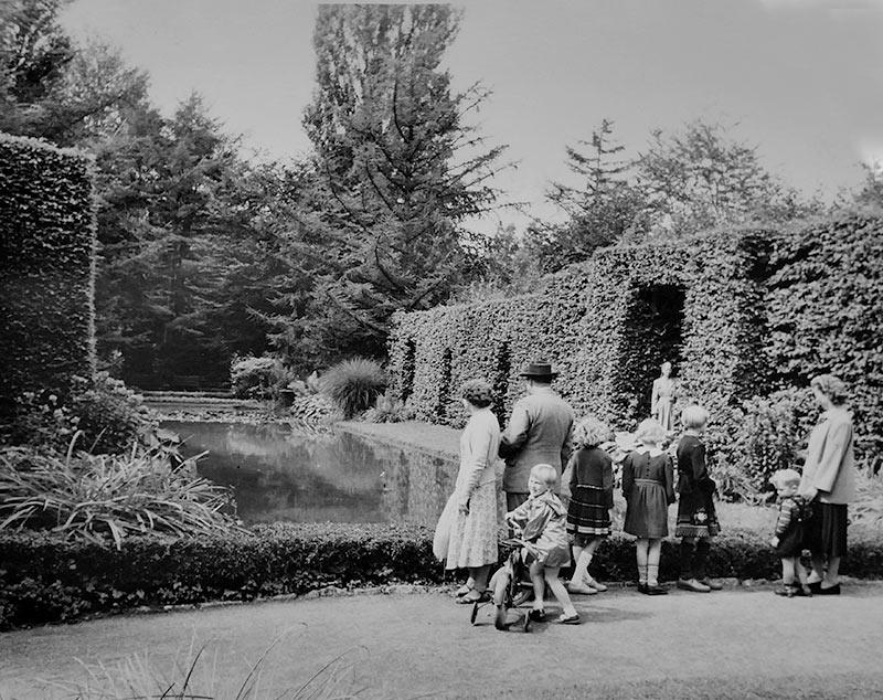 Familienausflug 1958