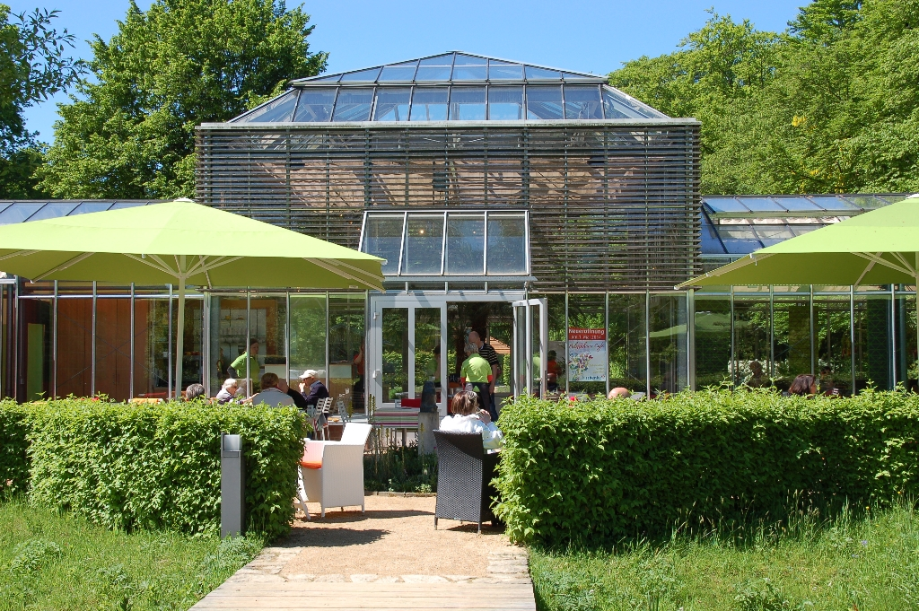 Palmenhaus-Café Botanischer Garten Gütersloh