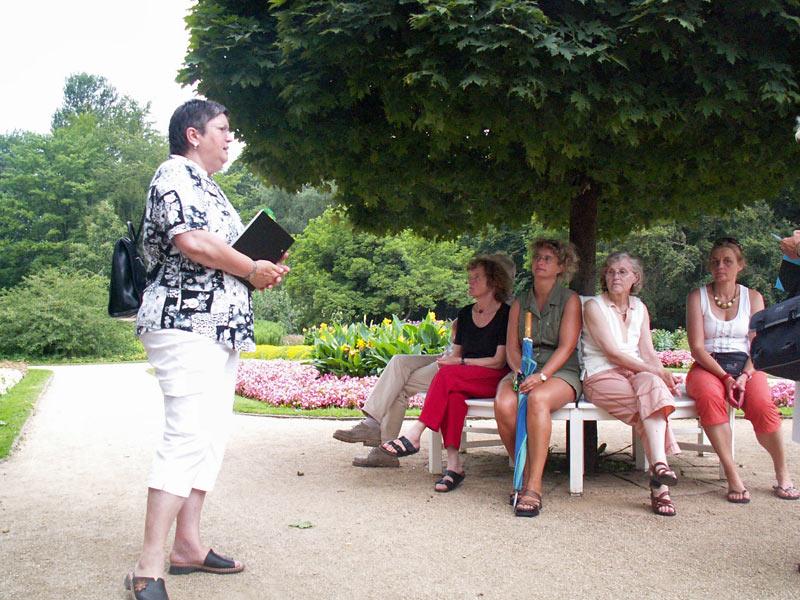 Pflanzenjäger-Führung mit Barbara Weidler