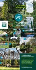 Broschüren Stadtpark-Flyer