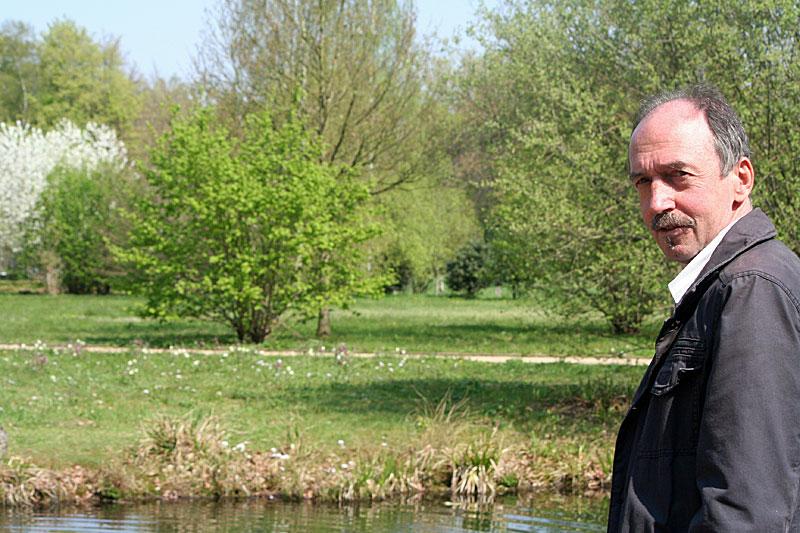 Bernd Winkler im Stadtpark Gütersloh