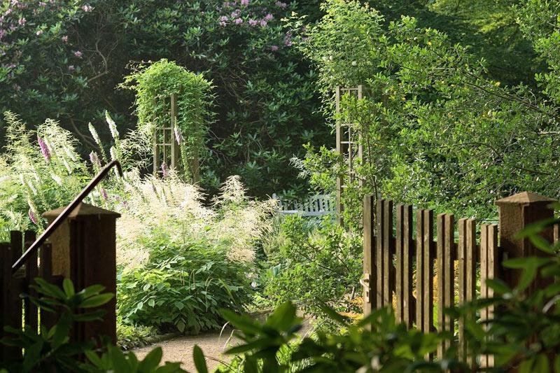 Förderkreis Botanischer Garten Eingang
