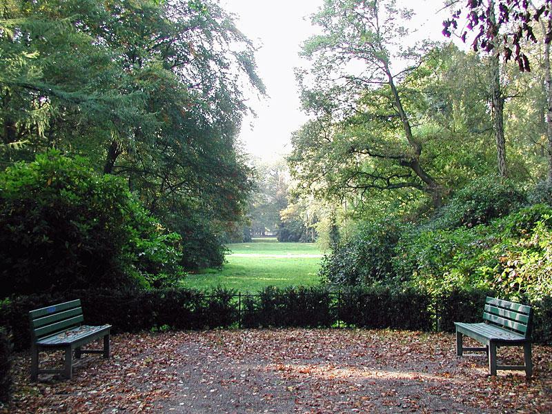 Stadtpark-Sichtachse