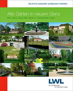 Broschüren Alte Gärten in neuem Glanz