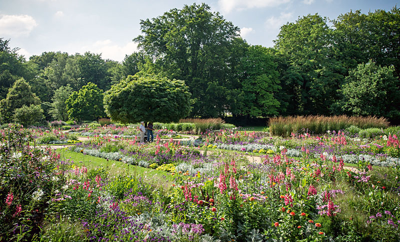 Botanischer-Garten-Farbgart