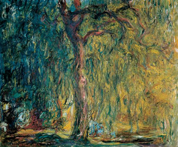 Trauerweide-Monet