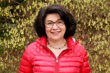 Maria Unger im Stadtpark Gütersloh