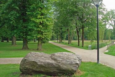 Findling im Stadtpark Gütersloh