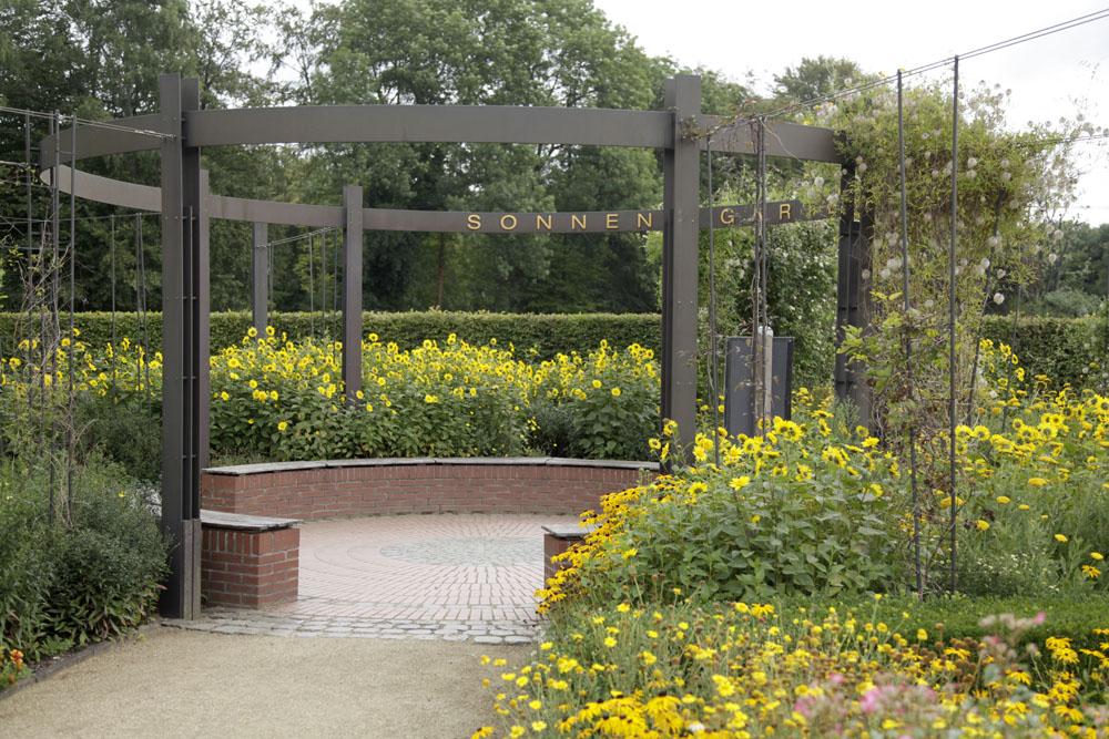 Sonnengarten im Botanischen Garten