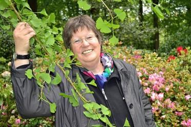 Barbara Weidler im Stadtpark Gütersloh