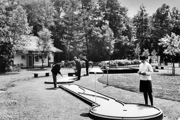 Minigolfanlage im Stadtpark Gütersloh 1962