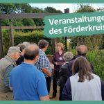 Führungen durch den Botanischen Garten Gütersloh